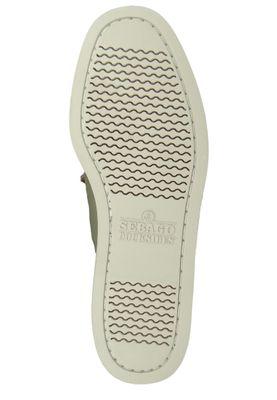 Sebago 70014M0 946 Docksides Portland Winch Herren Bootsschuhe Green Sage Olive Grau – Bild 6