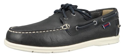 Sebago 7000070 908 Naples Men's Boat Shoes Blue Navy Blue – Bild 1