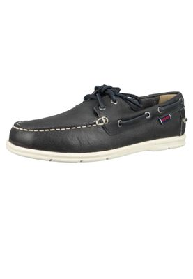 Sebago 7000070 908 Naples Men's Boat Shoes Blue Navy Blue – Bild 2