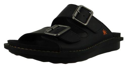 Art 1370 I Explore Damen Leder Sandale Pantolette Black Schwarz – Bild 1