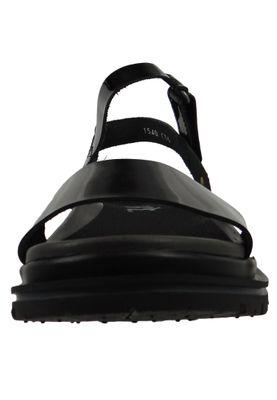 Art 1540C Birmingham Damen Lackleder Sandale Black Schwarz – Bild 4