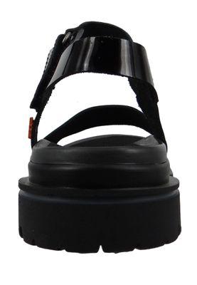 Art 1540C Birmingham Damen Lackleder Sandale Black Schwarz – Bild 2