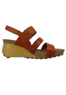 Art 1320 Borne Women's Leather Wedge Sandal Pumps Cuero Brown – Bild 5