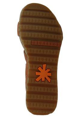 Art 1320 Borne Damen Leder Keil Sandale Pumps Cuero Braun – Bild 6