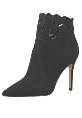 Tamaris 1-25709-31 001 Damen Black Schwarz Stiefelette High Heeled Ankle Boot – Bild 1