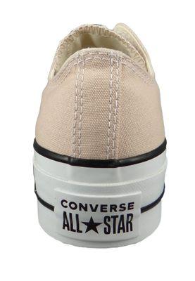 Converse Chucks Plateau Beige 563497C Chuck Taylor All Star Lift - OX Particle Beige White Black – Bild 3