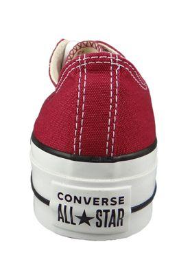 Converse Chucks Plateau Wine Red 563496C Chuck Taylor All Star Lift - OX Rhubarb White Black – Bild 3