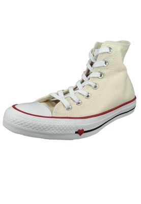 Converse Chucks 163304C Beige Chuck Taylor All Star HI Natural Black Garnet – Bild 1