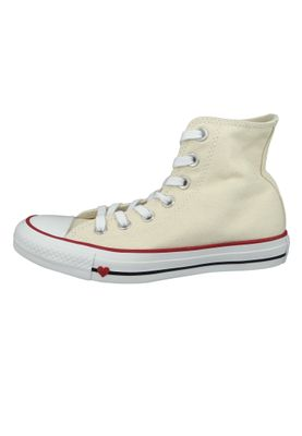 Converse Chucks 163304C Beige Chuck Taylor All Star HI Natural Black Garnet – Bild 2