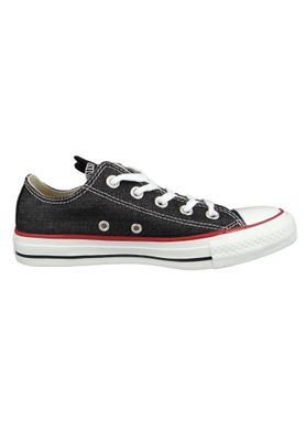 Converse Chucks 163309C Anthrazit Chuck Taylor All Star OX Black White Garnet – Bild 4