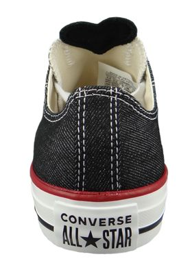 Converse Chucks 163309C Anthrazit Chuck Taylor All Star OX Black White Garnet – Bild 3