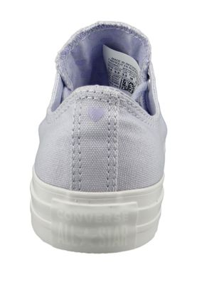 Converse Chucks 163284C Lavendel Chuck Taylor All Star OX Oxygen Purple Washed Lilac – Bild 3