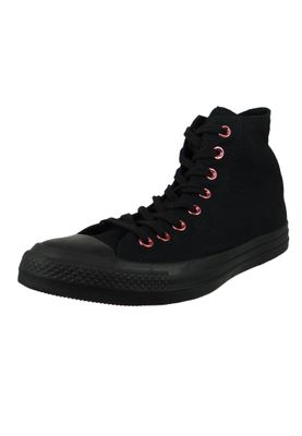 Converse Chucks 163286C Schwarz Chuck Taylor All Star OX Black Rhubarb Black – Bild 1