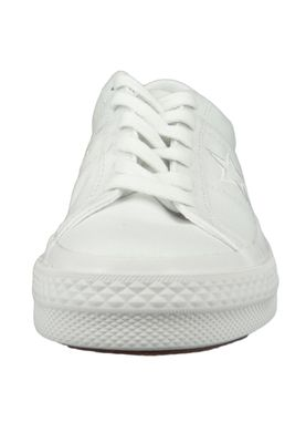 Converse Chucks 163377C Weiss One Star OX White White White – Bild 5