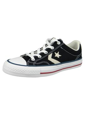 Converse Chucks 144145C Schwarz Star Player  OX Black Milk – Bild 1