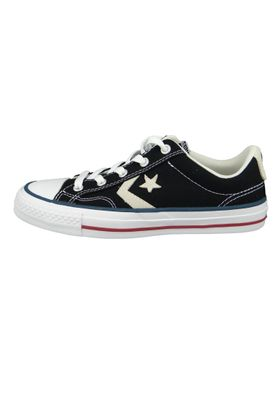 Converse Chucks 144145C Schwarz Star Player  OX Black Milk – Bild 2