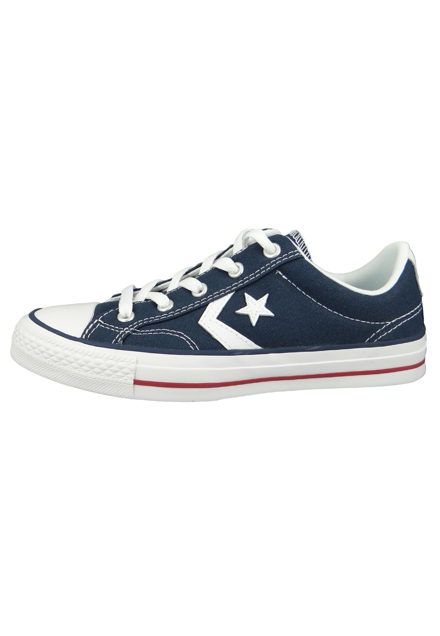 Converse Chucks 144150C Blau Star Player OX Navy White
