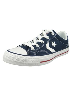 Converse Chucks 144150C Blue Star Player OX Navy White – Bild 1