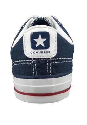Converse Chucks 144150C Blue Star Player OX Navy White – Bild 3