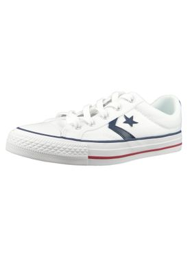 Converse Chucks 144151C Weiss Star Player OX White White Navy – Bild 1