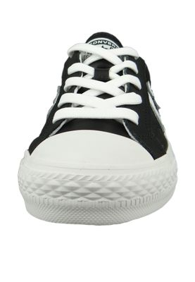 Converse Chucks 159780C Schwarz Star Player OX Leder Black White White – Bild 5