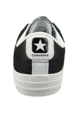Converse Chucks 159780C Schwarz Star Player OX Leder Black White White – Bild 3