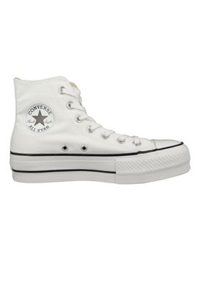 Converse Chucks Plateau Weiß 560846C Chuck Taylor All Star Lift - HI White Black White – Bild 4
