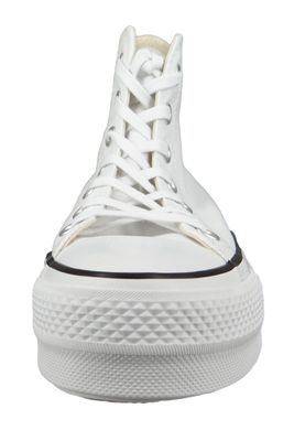 Converse Chucks Plateau Weiß 560846C Chuck Taylor All Star Lift - HI White Black White – Bild 5