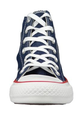 Converse Chucks 163303C Blue Chuck Taylor All Star HI Indigo Enamel Red Blue – Bild 5