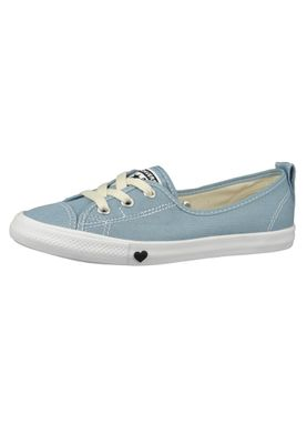 Converse Chucks Ballerina 563492C Dainty All Star Ballet Lace Blau Light Blue White Black – Bild 1