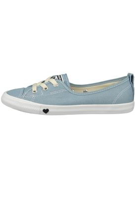 Converse Chucks Ballerina 563492C Dainty All Star Ballet Lace Blau Light Blue White Black – Bild 2