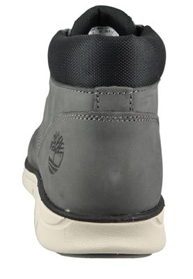 Timberland A22M8 Bradstreet Chukka Leather Herren Schnürschuhe Chukka Boots Castlerock Grau – Bild 3