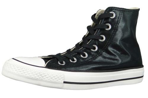 Converse Chucks Black 563420C Chuck Taylor All Star - HI Black Black White – Bild 1