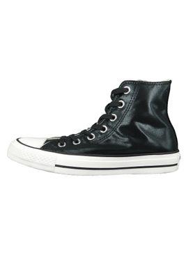 Converse Chucks Schwarz 563420C Chuck Taylor All Star - HI Black Black White – Bild 2