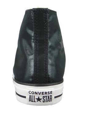 Converse Chucks Schwarz 563420C Chuck Taylor All Star - HI Black Black White – Bild 3
