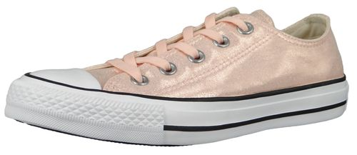 Converse Chucks Pink 563412C Chuck Taylor All Star - OX Washed Coral Black White – Bild 1