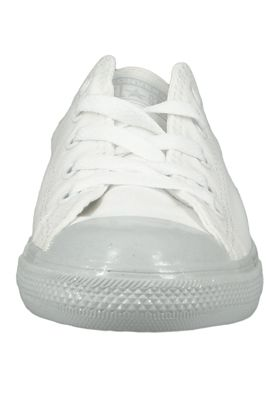 Converse Chucks 563475C Weiss Chuck Taylor All Star Dainty OX White White Pure Platinum – Bild 5