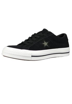 Converse Chucks 163383C Schwarz One Star OX Black Field Surplus White – Bild 1