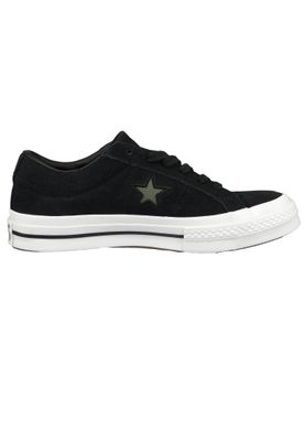 Converse Chucks 163383C Black One Star OX Black Field Surplus White – Bild 5