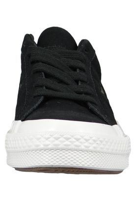 Converse Chucks 163383C Schwarz One Star OX Black Field Surplus White – Bild 5