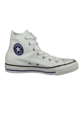 Converse Chucks Weiss 164411C Chuck Taylor All Star - White Court Purple White – Bild 4