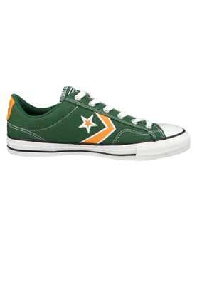 Converse Chucks 164400C Green Star Player OX Fir Orange Ox White – Bild 4