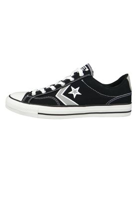 Converse Chucks 164399C Schwarz Star Player OX Black Dolphin White – Bild 2