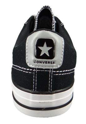 Converse Chucks 164399C Schwarz Star Player OX Black Dolphin White – Bild 5