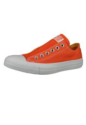 Converse Chucks Orange 164303C Chuck Taylor All Star Slip ON Turf Orange Melon Baller White – Bild 1