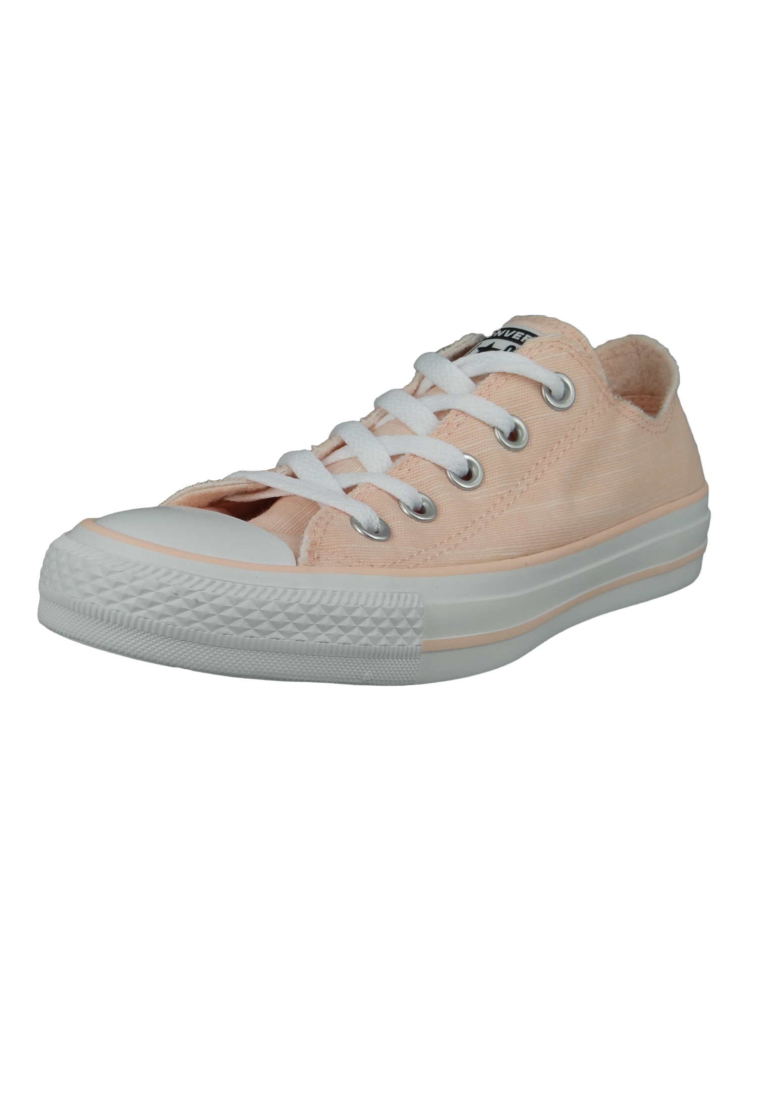 Converse Chucks Rosa 564343C Chuck Taylor All Star OX Washed Coral White