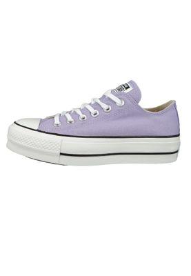 Converse Chucks Plateau Purple 564384C Chuck Taylor All Star Lifts - OX Washed Lilac Black White – Bild 2