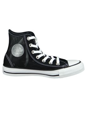 Converse Chucks Schwarz 564626C Chuck Taylor All Star - HI Black White – Bild 4