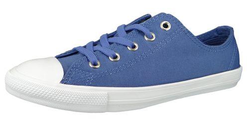 Converse Chucks 564308C Blau Chuck Taylor All Star Dainty OX Washed Indigo Fog – Bild 1