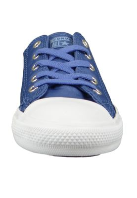 Converse Chucks 564308C Blau Chuck Taylor All Star Dainty OX Washed Indigo Fog – Bild 3
